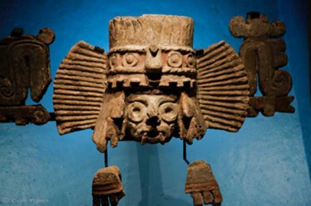 Tlaloc, el dios de la lluvia fue el segundo inquilino de Balankanchè. (David Flores / CC BY-SA 2.0)