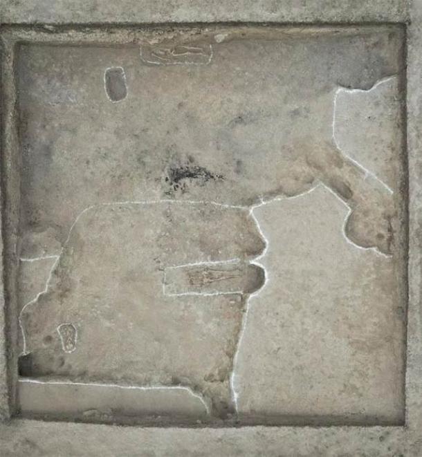 Se encontraron tumbas de nómadas en el sitio. (Instituto de Arqueología de Xinjiang)