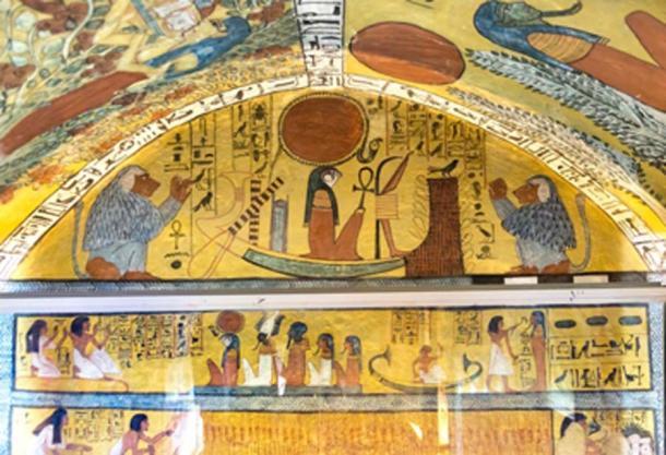 Tumba de Sennedjem en Deir el-Medina donde se descubrieron las momias. (kairoinfo4u / CC BY-SA 2.0)