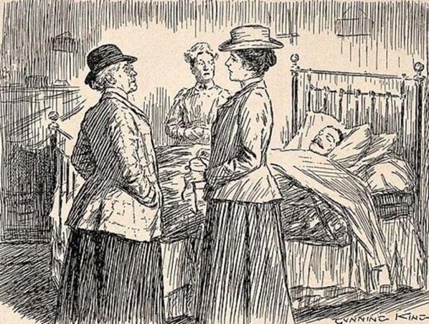 Dos doctoras hablando de un paciente. (Imágenes de bienvenida / CC BY 4.0)