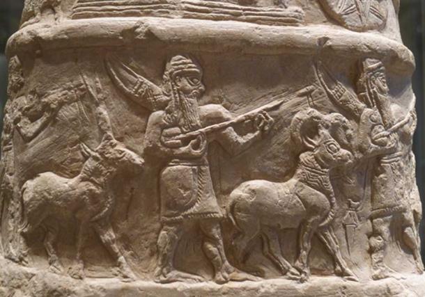 Un kudurru, piedra limítrofe, de la antigua Mesopotamia. (Mbzt / CC BY-SA 3.0)
