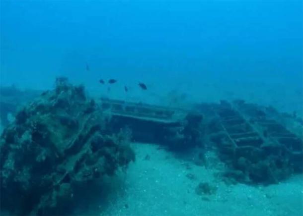 Los buzos submarinos han descubierto estructuras navales, un puerto antiguo y una fortaleza marítima romana frente a la costa de Siria en Tartus. (Universidad Estatal de Sebastopol)
