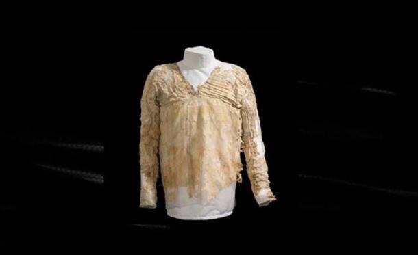 El vestido de Tarkhan. Fuente: Museo Petrie de Arqueología Egipcia UCL