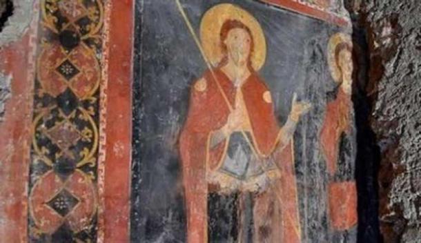 Viggiani cree que los dos hombres son muy probablemente San Alexis y Cristo el Peregrino. (Il Tempo.it)