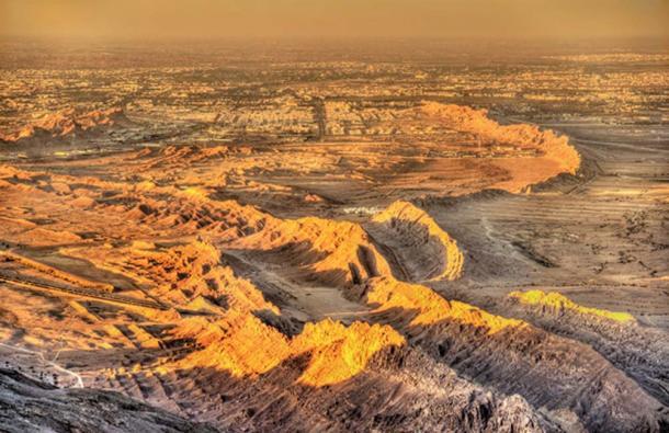 Vista de Al Ain desde la montaña Jebel Hafeet. (Leonid Andronov / Adobe)