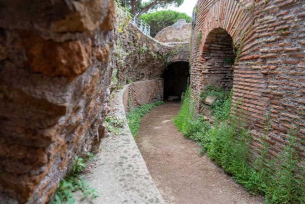 Se construyeron muros para defender Ostia Antica. (Ioannis Syrigos)