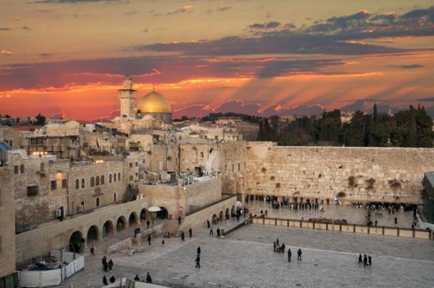 El Muro de los Lamentos en el Monte del Templo en la actualidad en Jerusalén, Israel. (VanderWolf Images/ Adobe stock)