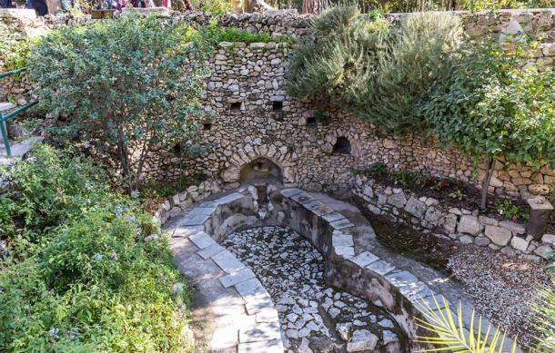 El lagar romano en la Tumba del Jardín de Jerusalén, Israel (svarshik / Adobe Stock)