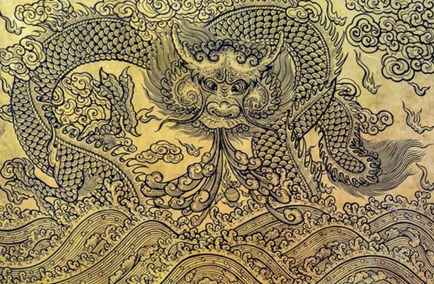 Con la ayuda de un dragón, Huangzi pudo derrotar a las fuerzas del mal. (Boonsom / Adobe)