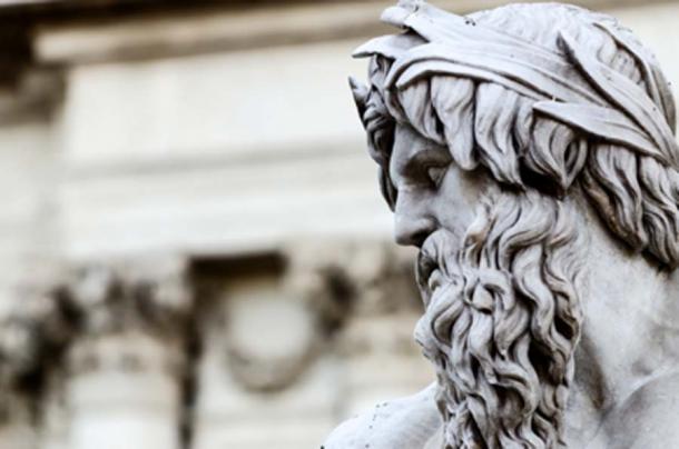 Zeus, rey de los dioses. Fuente: BlackMac / Adobe Stock.