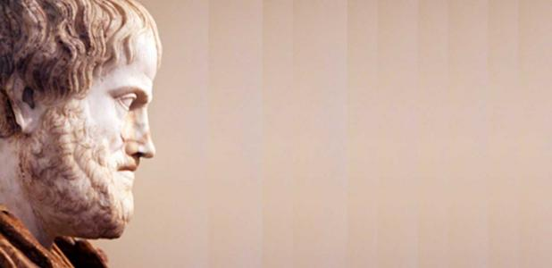 Portada - Copia del siglo II d. C. de una escultura de Aristóteles del siglo IV a. C., encargada por Alejandro Magno al escultor Lisipo. Fuente: Nick Thompson/CC BY NC SA 2.0