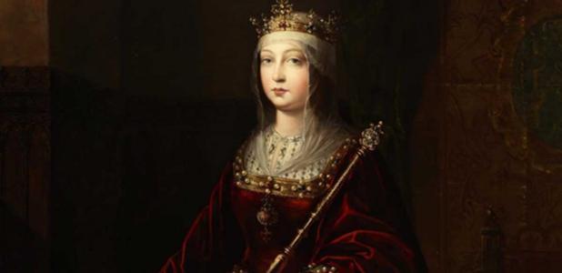 Portada - Retrato póstumo de la reina Isabel I de Castilla. (Dominio público)