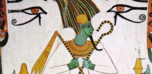 Portada - Osiris, dios egipcio del Inframundo (Dominio público)