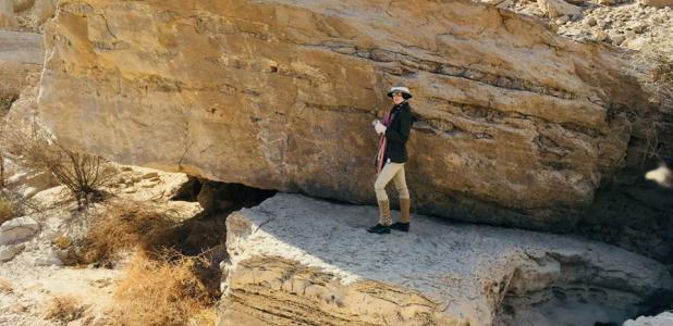 Portada - Los arqueólogos han encontrado en el desierto oriental de Egipto arte rupestre de hace 3.500 años con imágenes de toros, asnos y carneros de Berbería. Fuente: Ministerio de Antigüedades de Egipto
