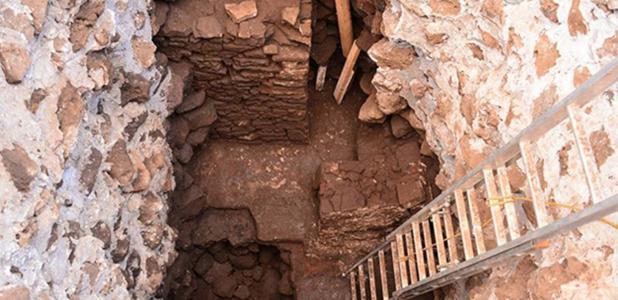 Portada - El templo fue descubierto cuando los arqueólogos estaban analizando los daños ocasionados por el terremoto de septiembre del 2017 en la pirámide de Teopanzolco. Fuente: (Instituto Nacional de Antropología e Historia de México (INAH)