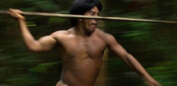 Portada - En un reciente estudio, un equipo de investigadores estadounidenses examinó la composición social de los grupos de guerreros de una sociedad tribal amazónica, los Waorani ecuatorianos, y su sorprendente relación con las alianzas matrimoniales. Fuente: Pete Oxford/australscope