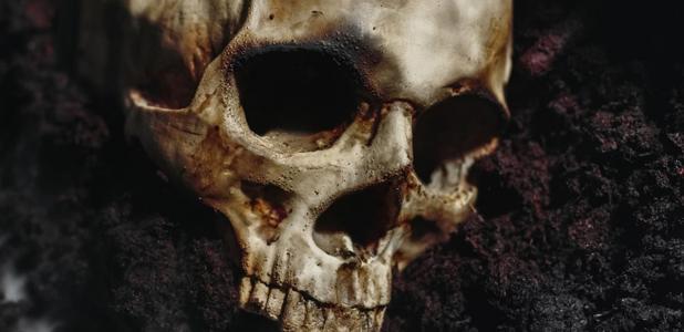 fosa común de víctimas de la Peste Negra descubierta en la abadía de Thornton. Fuente: Sved Oliver/ Adobe Stock.