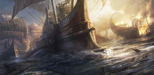 El Classis Britannica era una flota importante en la Armada romana. Fuente: RadoJavor / Deviant Art