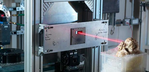El mayor avance en el estudio Pie Pequeño fue el poder científico de la avanzada tecnología de sincrotrón de Diamond Light Source.