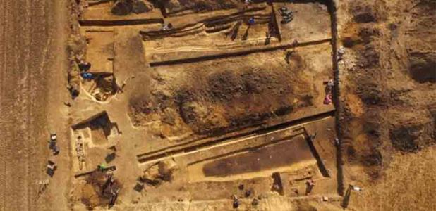 Gran cementerio megalítico descubierto con decenas de tumbas