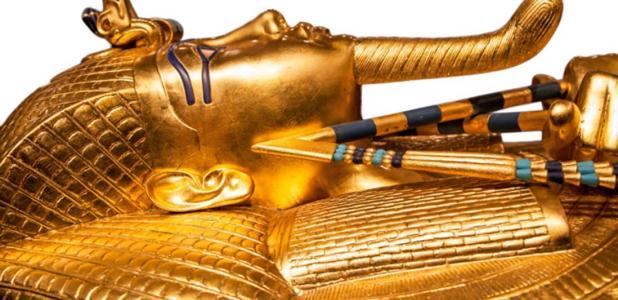 sarcófago del rey Tut. Fuente: Jaroslav Moravcik / Adobe Stock.