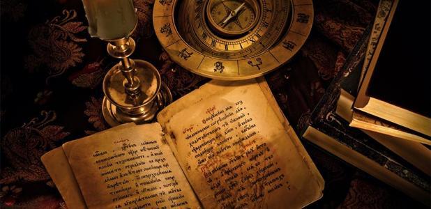 Representación de la escritura antigua de uno de los idiomas más antiguos en un libro. Fuente: Andrey Lavrishchev/ Adobe stock