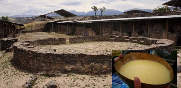 Las ruinas de la antigua civilización de Wari.