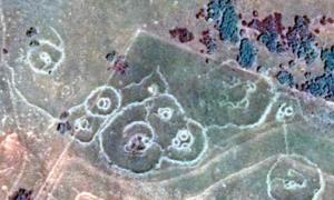Ruinas Bakoni en las colinas de Machadodorp