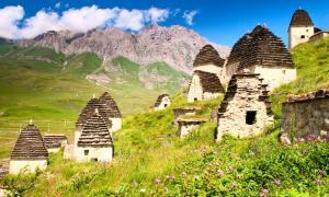 Ruinas de Dargavs, asentamiento antiguo