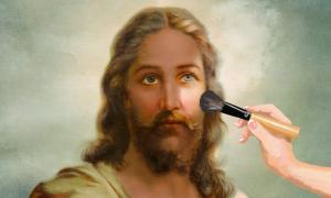 En la Heliand, Jesús no era un palestino de piel oscura sino un jefe germánico. Hans Zatzka (dominio público) / La conversación, CC BY-ND