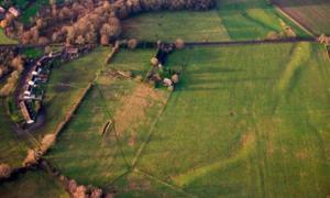Imagen de portada: El yacimiento de Marden Henge en Wiltshire (Snip View)