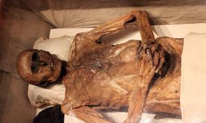 La momia de Christian Friedrich von Kahlbutz