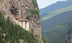 Portada - Monasterio de Sumela, Turquía