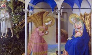 Portada-La Anunciación de Fra Angelico (Public Domain)