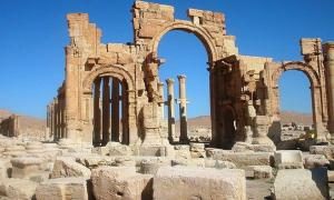 Portada - Arco de Triunfo o Arco de Septimio Severo, Palmira, Siria, 2005. (CC BY-SA 3.0)