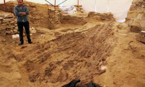 Portada-Barca de Abusir. Origen: Ministerio de Antigüedades de Egipto