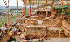 Portada - Parte de las ruinas de la antigua ciudad romana de Bílbilis en Calatayud, España. (Diego Delso/CC BY-SA 3.0)