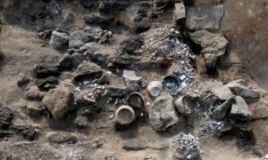 Portada-La cripta con más de 30 enterramientos descubierta en Siberia. Fotografía: Pavel German