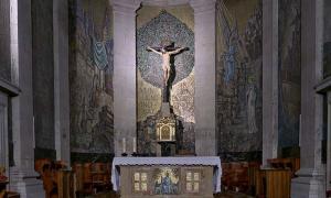 Portada - La imagen del Cristo de la Victoria en la Concatedral de Santa María de la ciudad de Vigo, Galicia, España. (José Luis Filpo Cabana/CC BY 3.0)