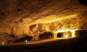 Portada-Cueva de Sedecías, Jerusalén, Israel.jpg