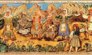 Portada-La Danza de Zalongo, Theophilos Hatzimichail (Helleniccomserve)