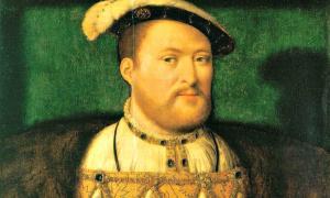 Portada-Retrato al óleo del rey Enrique VIII pintado entre los años 1530 y 1535 por el flamenco Joos van Cleve. Colección de la Familia Real Británica. (Public Domain)