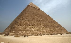 Portada - Gran Pirámide de Egipto. BigStockPhoto