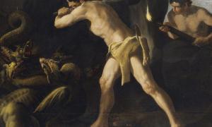 Portada-'Hércules lucha con la Hidra de Lerna', pintura de Francisco de Zurbarán, Museo del Prado (Wikimedia Commons)