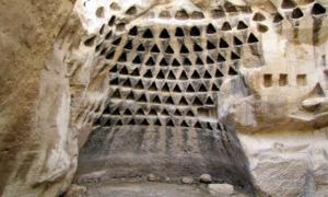 Portada-Hirbet Madras, en la reserva natural Adullam de Israel, parte de lo que el geólogo Dr. Alexander Koltypin cree que son estructuras de un complejo prehistórico masivo bajo tierra que se extendería a lo largo del Mediterráneo. (Fotografía: Alexander Koltypin/La Gran Época)