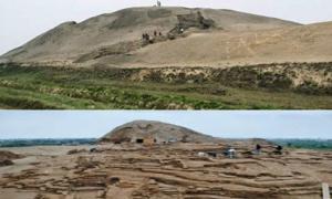 Portada - El antiguo asentamiento de Huaca Prieta, situado en el Valle Chicama de la costa norte peruana, en la desembocadura del río Chicama (Nephicode)