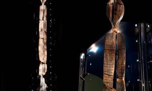 Portada-El Ídolo de Shigir (captura de pantalla del vídeo de YouTube: Nemesis Maturity)
