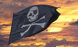 Portada - Bandera pirata. Fuente: Andrea Izzotti/Adobe.