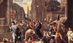 Portada-La Peste de Asdod por Nicolas Poussin (Wikimedia Commons).jpg