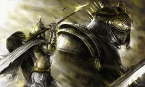 Portada - El combate entre Lug y Balor (Salem's Moon)
